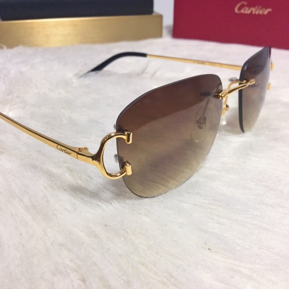 Accessories Cartier C Decor Sunglasses Poshmark